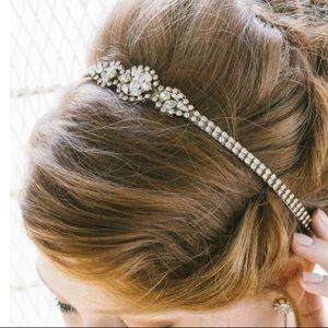 Sara Gabriel Designer Bridal Headpiece/Belt